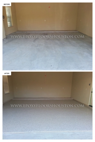 Epoxy Garage Before And After
