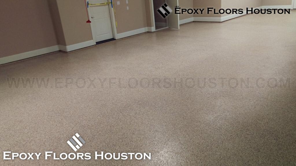 Residential epoxy garage floor image gallery in houston tx for Flooring houston