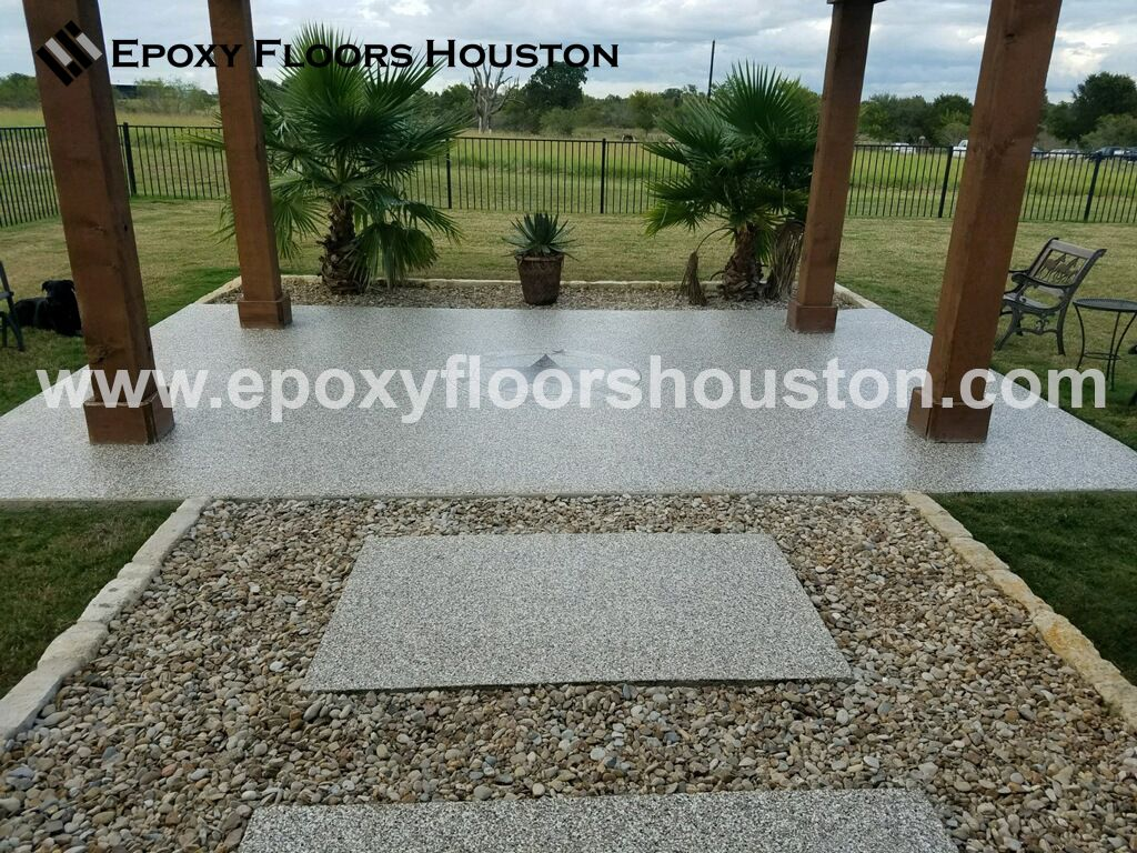 How To Lay A Pea Gravel Epoxy Porch Floor Porch Flooring