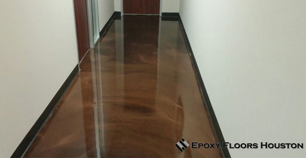 Metallic Epoxy Floor Commercial