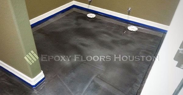 Metallic Epoxy Floor in Office