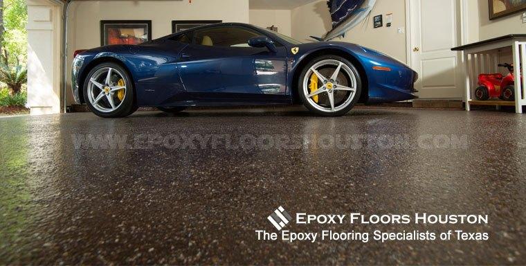 Mica Chip Floor Epoxy Floors Houston