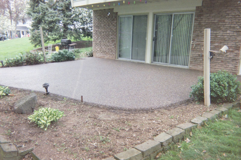 Paint Concrete Patio Pictures