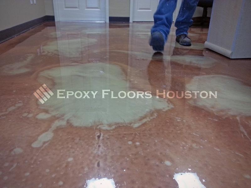 Custom metallics for Flooring houston