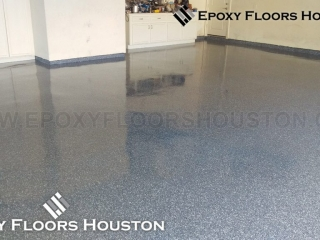 Epoxy Chip Flake Flooring Houston
