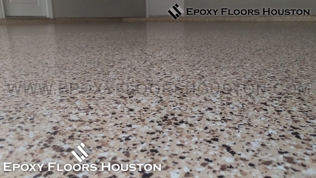 Epoxy Chip Flake Flooring Houston