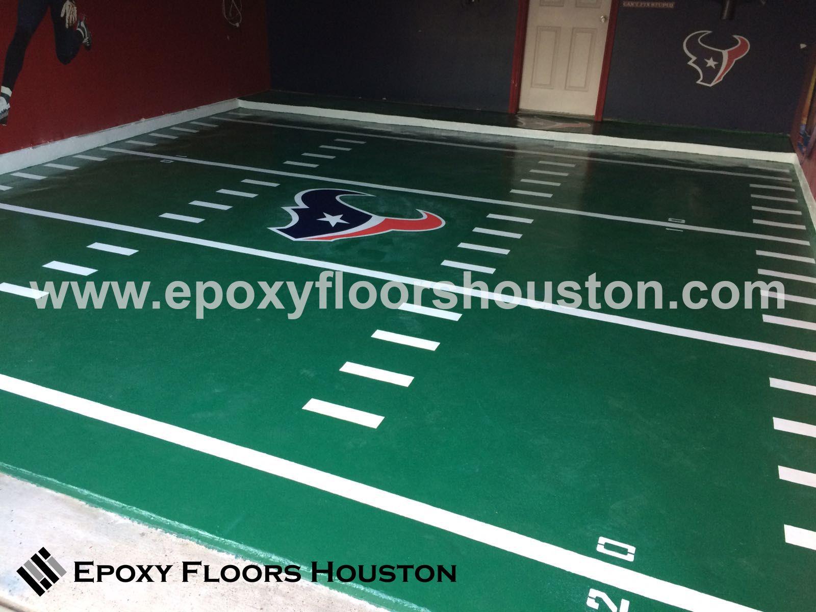Flooring Services In Houston : Custom decals in epoxy flooring houston tx