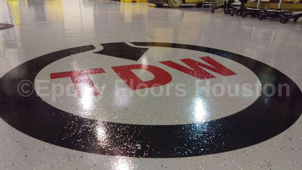 Epoxy Floor Decal 1