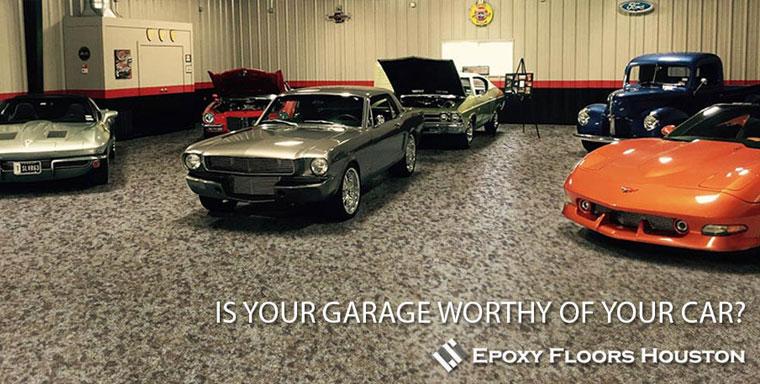 Commercial Epoxy Garage Floor