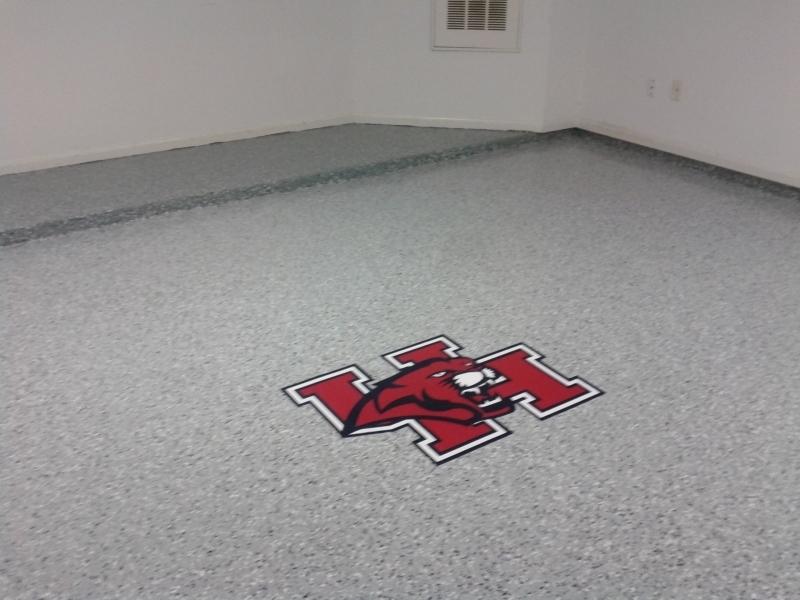 Epoxy Floor Decal 2
