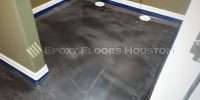 Metallic Epoxy Floor Houston