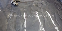 Metallic Epoxy Floor Commercial Shop