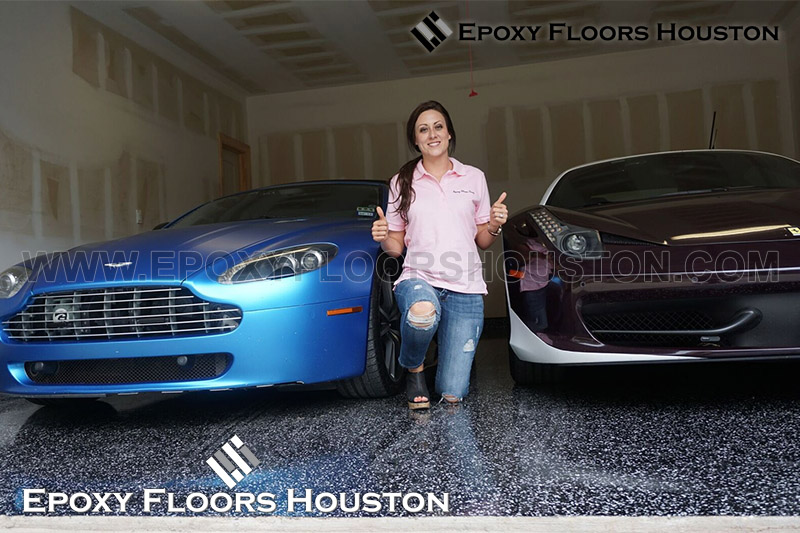 Silver Package Epoxy Floors Houston Garage