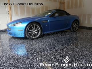 Silver Package Epoxy Floors Houston Garage
