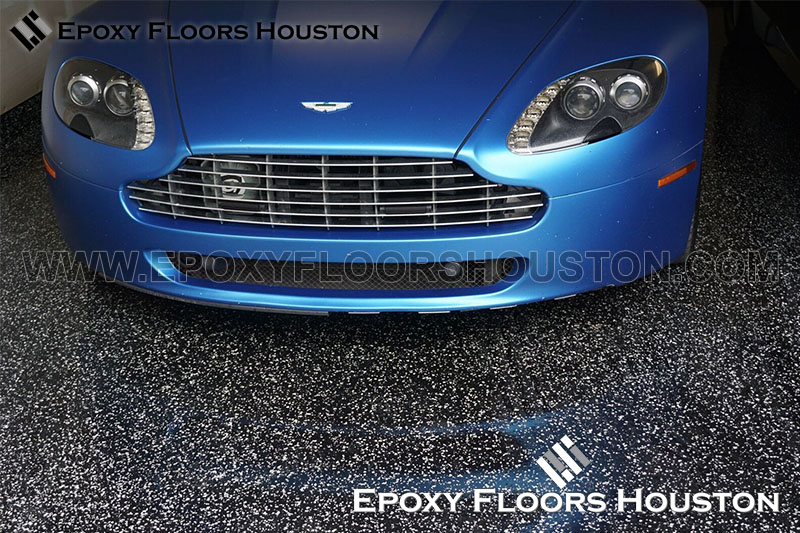 Aston Martin Ferrari Epoxy Floors Houston - Aston martin houston
