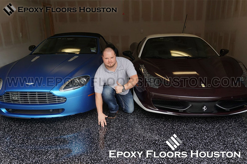 Aston Martin Ferrari Epoxy Floors Houston 9