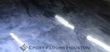 Commercial Epoxy Metallic Floor in Houston, Texas